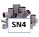 PVC hulpstukken SN4 Ø 110 t/m 200mm