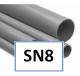 PVC buizen SN8 Ø 250 t/m 630mm