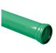 PVC U3 buizen incl. mof - groen