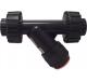 PVC-U terugslagkleppen - lijmmof