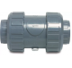 Praher PVC-U terugslagkleppen - veerbelast & lijmmof